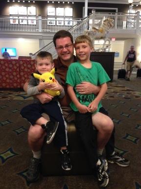 Mark and kids