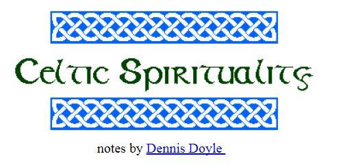 Celtic Spirituality Do