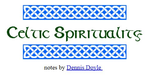 Celtic Spirituality Do