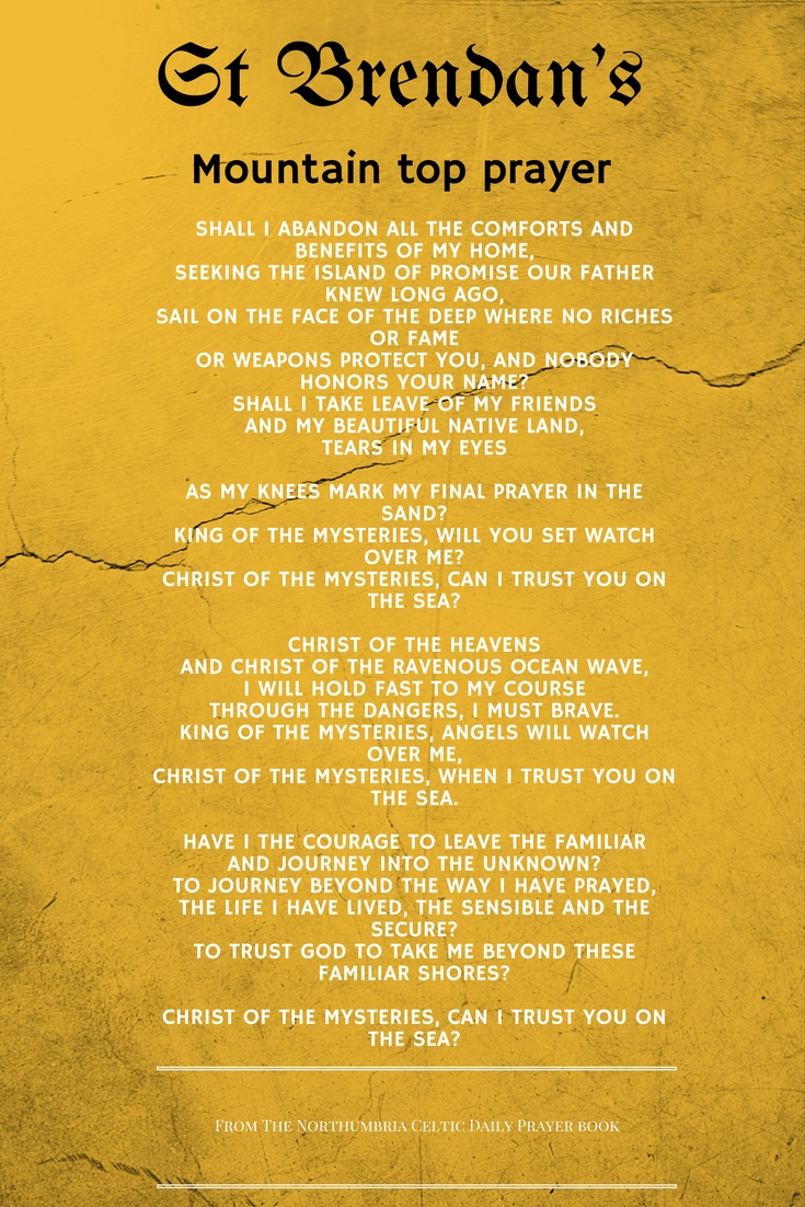 St Brendan's Prayer