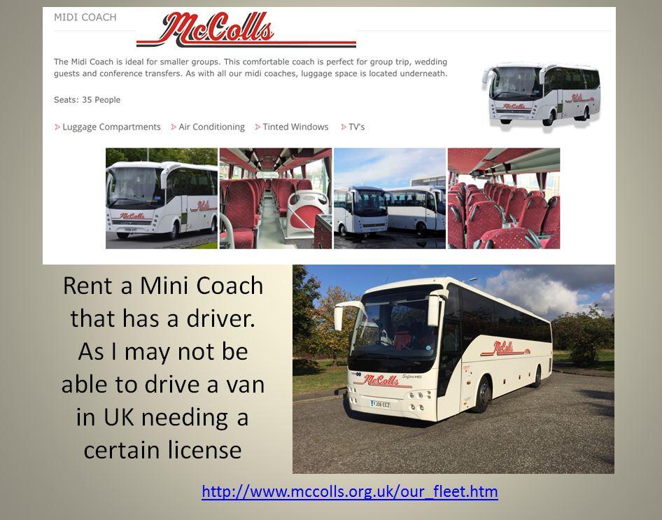 Mini coach