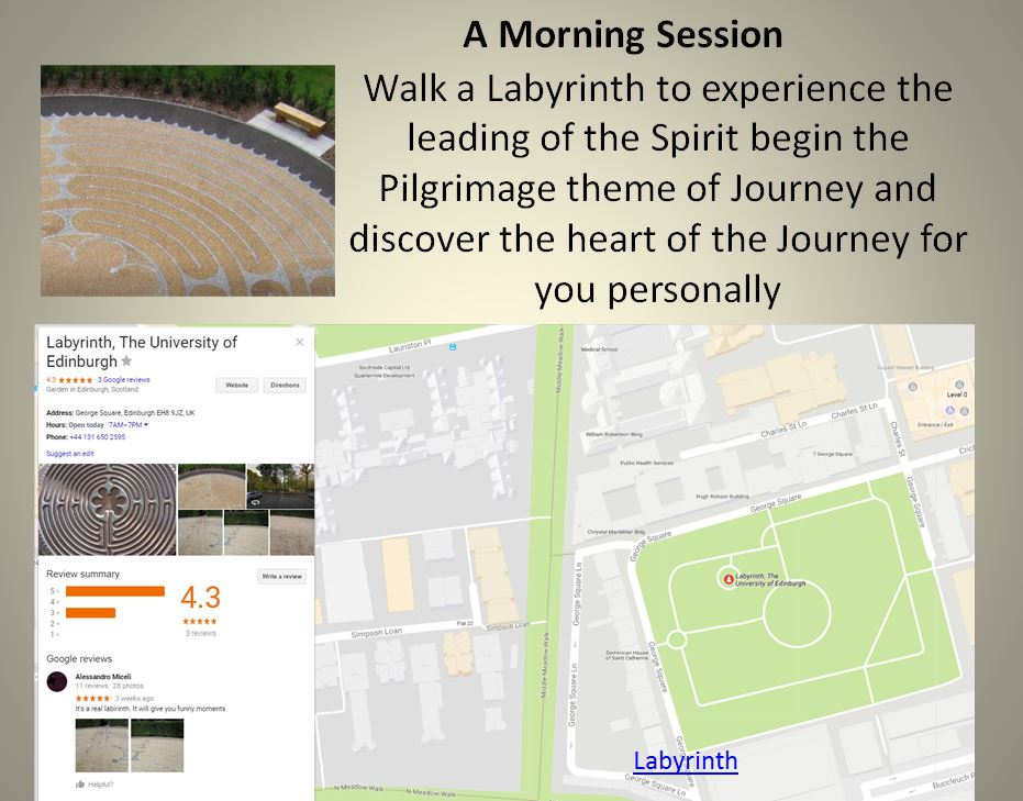 Morning session Labyrinth
