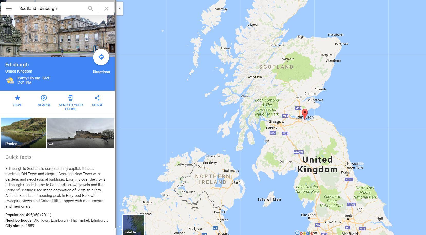 Scotland MapQuest
