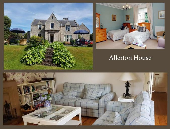 Allerton House collage