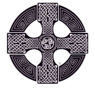 Celtic cross front cover