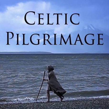 Celtic Pilgrimage man walking