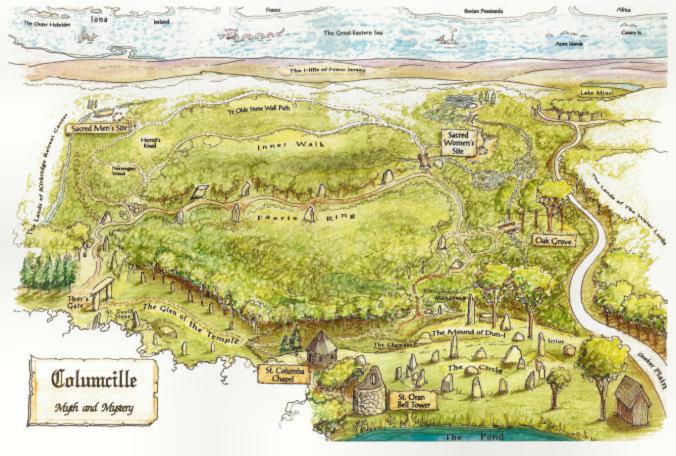 Columcille Map